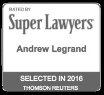 Andrew Legrand, Super Lawyer